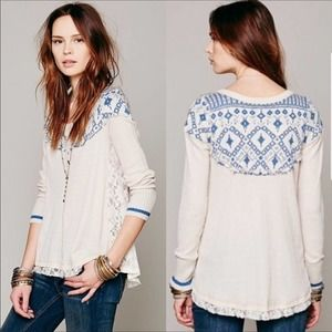 Free People Cabin In The Woods Thermal Small